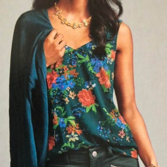 CAbi Tops - CAbi Still Life Floral Top